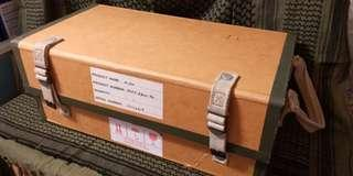 一個八零年代尾古董紙盒