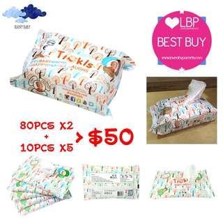 TICKLS 甜笑寶😆純水嬰兒濕紙巾👶🏻