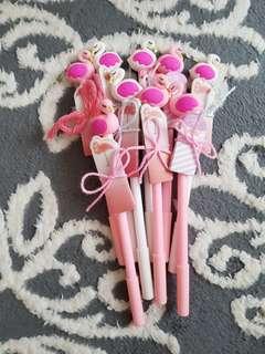 Flamingo pen