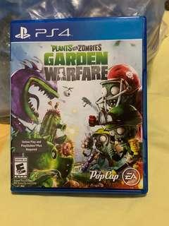 PS4 Game - Plants vs Zombies Warfare