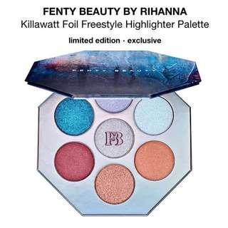 🚚 ⭐️SALE⭐️ BNIB AUTHENTIC Fenty Beauty KILLAWATT FOIL Freestyle Highlighter Palette (Limited Edition)
