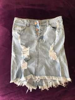 Supre high waisted skirt xs