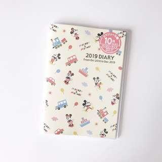2019 Mickey & Minnie 2019 A6 Diary (pending)