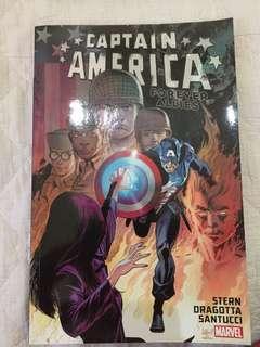 Captain America Forever Allies