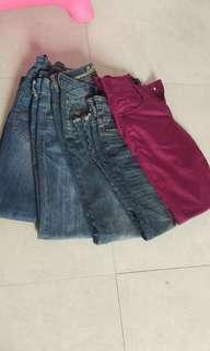 Women Pants bundle of 5