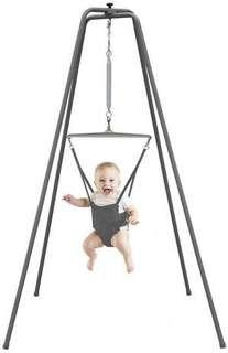 Jolly jumper with super stand and musical mat for rent