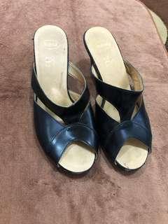 Scholl Black High Heels