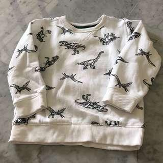 Carters fleece lined pullover 4-5 yrs old