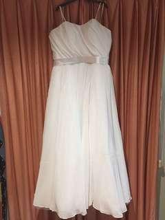 Strapless wedding/formal dress