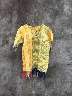 Boho Yellow Top