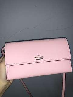 sling bag kate spade baby pink