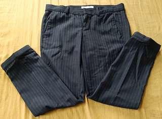 Authentic Initials slacks-cropped leg