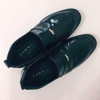Zara Leather Loafers