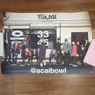 [ WTS ] seventeen teen,age group poster