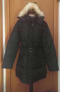 Kappa down jacket, detachable hood.