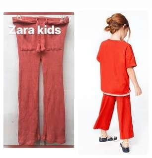 Zara ribbed culottes kids