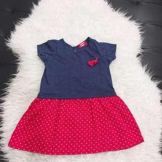 Girls dress miki baby padini seed mothercare