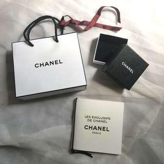 Chanel Paper Bag and Box