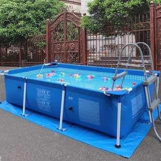 INTEX 家庭支架游泳池支架泳池户外水池 swimming pool