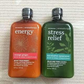 Bath and body works aromatheraphy conditioner