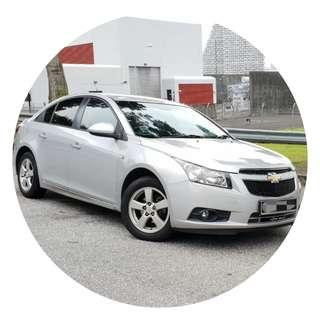 [TAKEN] LOW Mileage. As good as NEW!  - Chevrolet Cruze 1.6A for Private Hire Platform