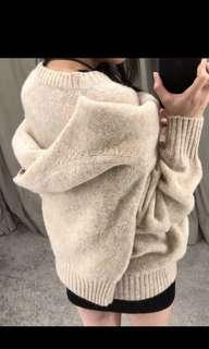 🚚 時髦chic港風兩件套双胞胎针織毛衣女短上衣