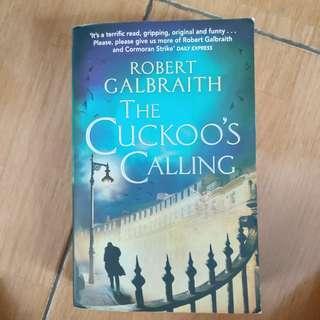 Cuckoo's Calling by Robert Galbraith