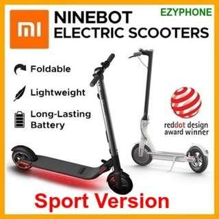 NEW Xiaomi Ninebot Sport Version Kick Scooter ES2 Smart Electric Scooter foldable lightweight long board hoverboard skateboard