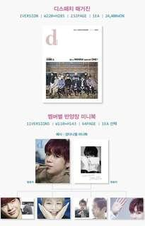 WTB/LF Wanna One dicon x dispatch Magazine and Bae jinyoung