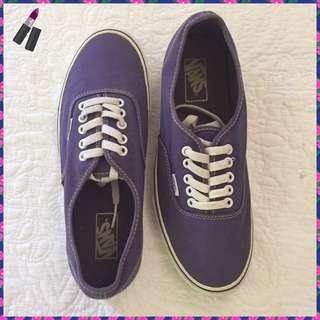 Cool Girl Purple Vans