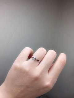 🚚 18K單顆美鑽戒
