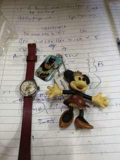 Bugs bunny watch and toy