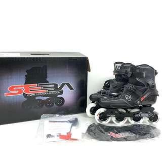 [全新] 超頂級Seba Skates 碳纖 roller 滾族溜冰鞋 US8.5 roller blade inline Trix80 carbon fibre  professional x game