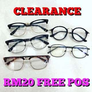 Glasses CLEARANCE