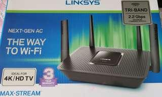 Linksys EA8300 Max stream AC2200 Tri-Band Router