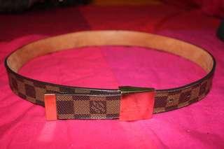 94f19aa1f717 Leather Belt Louis Vuitton