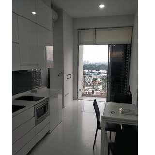 One Dusun  2bed2bath + Study inclusive of parking space For Rent! (Negotiable)