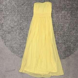 Room Chiffon Long Dress