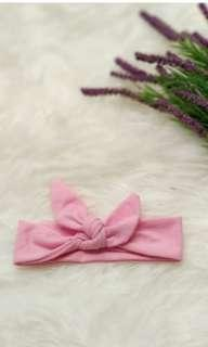 Bandana bando headwrap pink