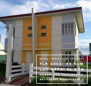 Denise Duplex type in Metrogate Meycauayan 2, Bulacan