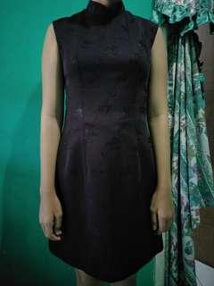 Chines dress hitam