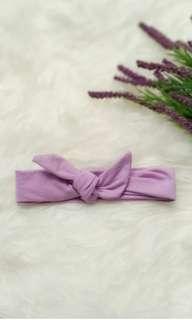 Bandana bando headwrap ungu purple bayi