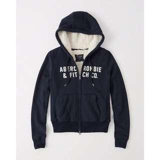 🚚 Abercrombie&Fitch鋪毛外套