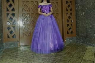 Purple Gown for Rent/Sale