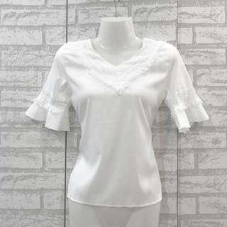 Casual Blouse ( Available in Beige & White Color) 0031