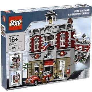 LEGO 10197 Modular Building Creator Fire Brigade Station