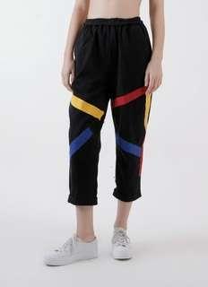 Calla The Label - Stripe Black Retro Jeans