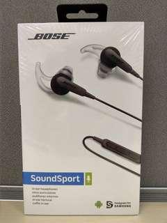Bose Soundsport in ear headphone Android