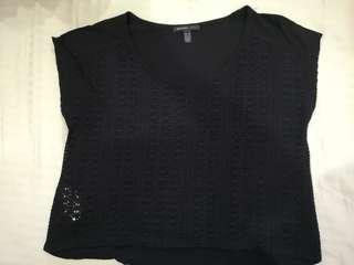 Mango Box Top Black