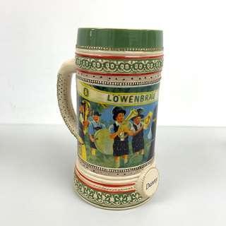 [罕見] Lowenbrau 盧雲堡 啤酒mug 啤酒杯 德國 Danny beer mug